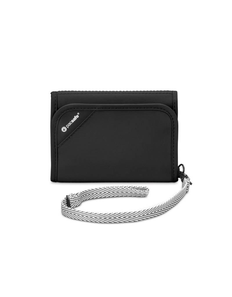 PACSAFE RFIDSAFE V125 BLACK TRIFOLD WALLET 10557100