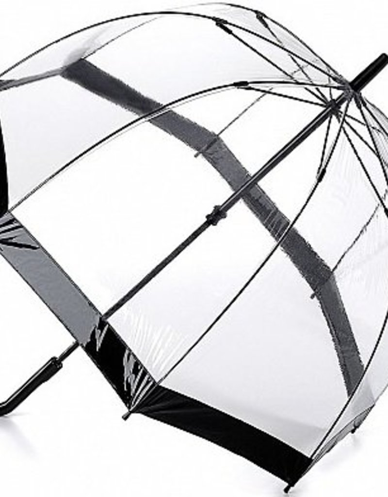 FULTON L041 NAVY BIRDCAGE UMBRELLA