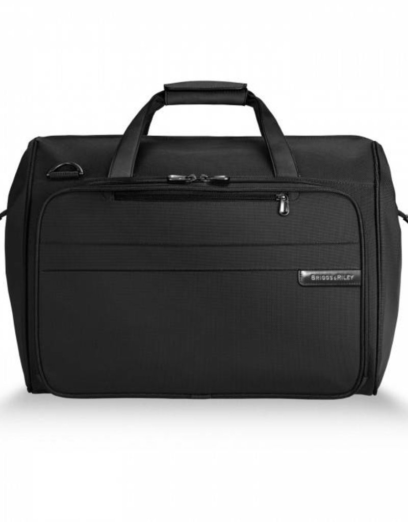 BRIGGS & RILEY 260-4 BLACK FRAMED WEEKENDER