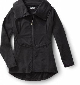 ROYAL ROBBINS Essential Zip-Up SMALL BLACK