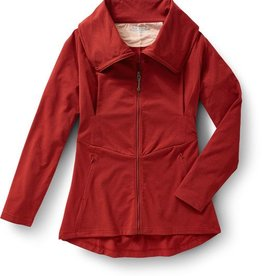ROYAL ROBBINS Essential Zip-Up EXTRA LARGE PIMENTO