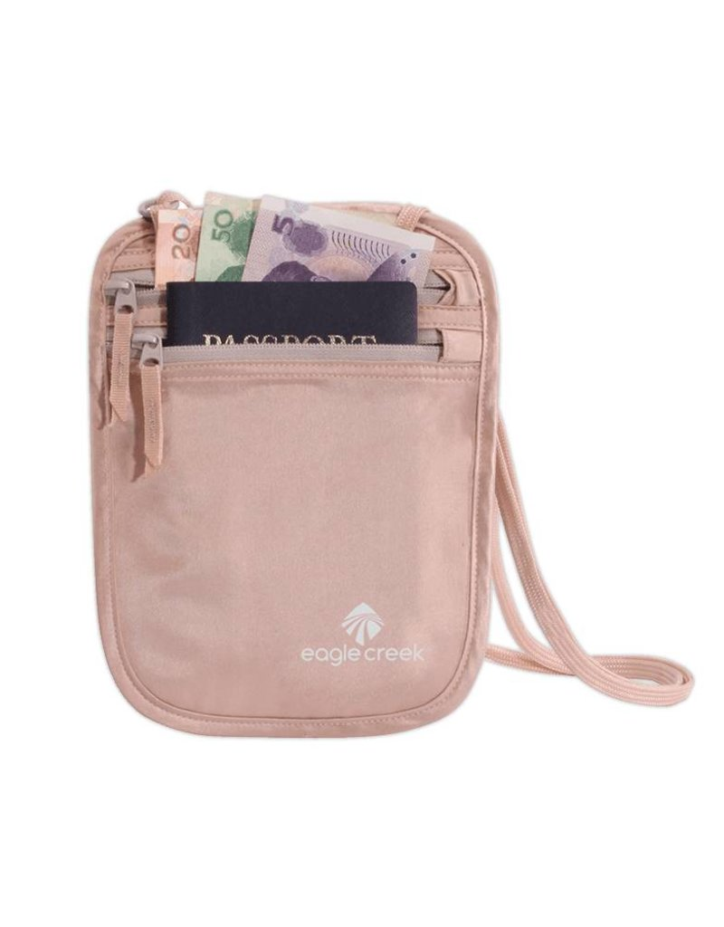 EAGLE CREEK EC041122 081 ROSE SILK NECK WALLET