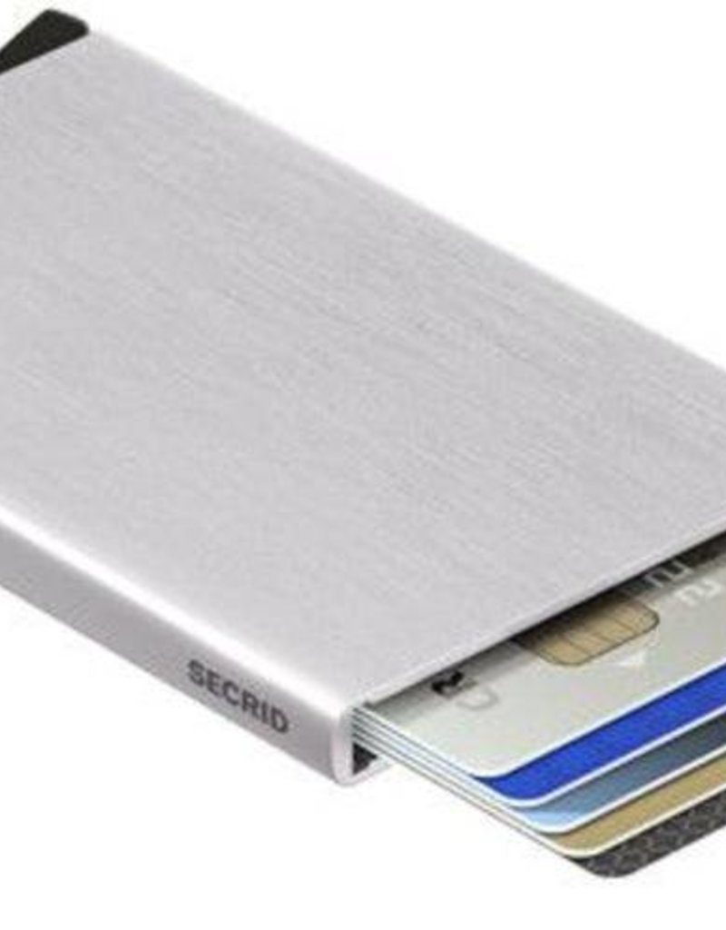 SECRID CARDPROTECTOR SILVER BRUSHED