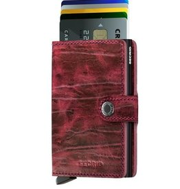 SECRID MINIWALLET DUTCH MARTIN BORDEAUX #