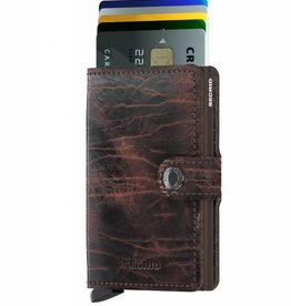 SECRID MINIWALLET DUTCH CACAO BROWN