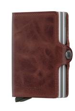 SECRID TWINWALLET RFID VINTAGE BROWN