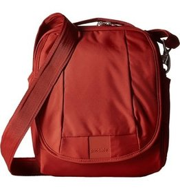 PACSAFE METROSAFE LS200 #VINTAGE RED CROSSBODY