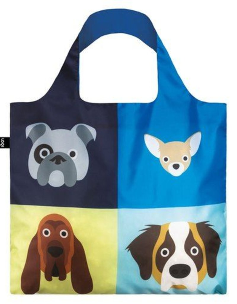 LOQI LOQI DOGS TOTE SC. DO