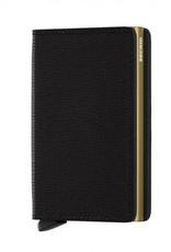 SECRID SLIMWALLET RFID BLACK GOLD CRISPLE