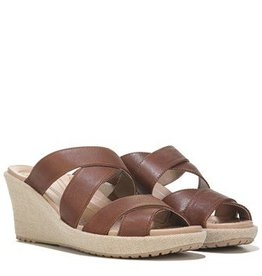 CROCS ALEIGH CRISS CROSS WEDGE W10 HAZEL