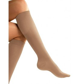 CLEAR IMAGE FLIGHT SOCK MEDIUM NUDE