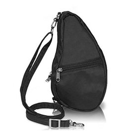 AMERIBAG BLACK BAGLETTE HEALTHY BACK BAG