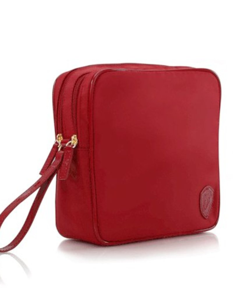 HEYS SQUARE TOILETRY RED