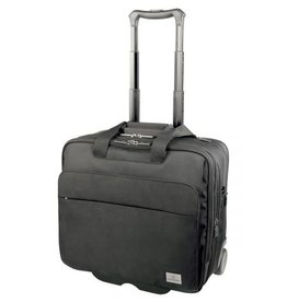 SWISS ARMY BLACK OFFICER 17 WHEELED BUSINESS CASE