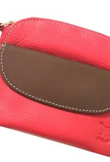 22060 1RED/BROWN COIN FLAP