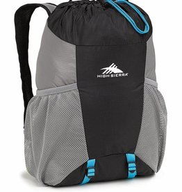 HIGH SIERRA BAG IN A BOTTLE BLACK BACKPACK