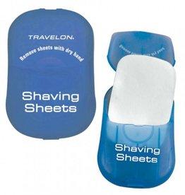 TRAVELON SHAVING SHEETS