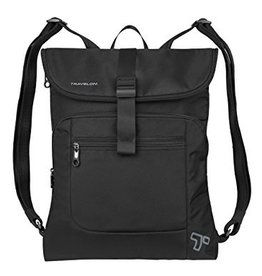 TRAVELON Urban Flap-Over Backpack BLACK
