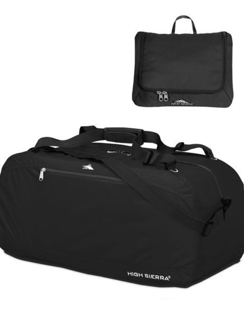 HIGH SIERRA 536393893 BLACK COVERT BACKPACK