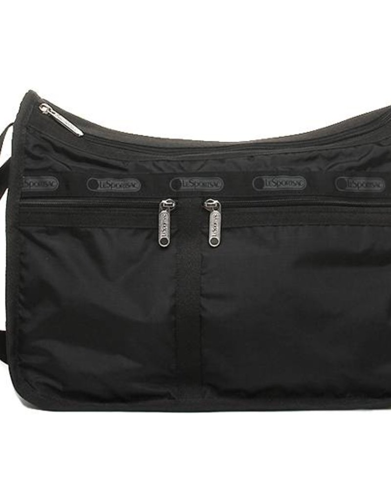 LESPORTSAC 7507 BLACK DELUXE EVERYDAY BAG