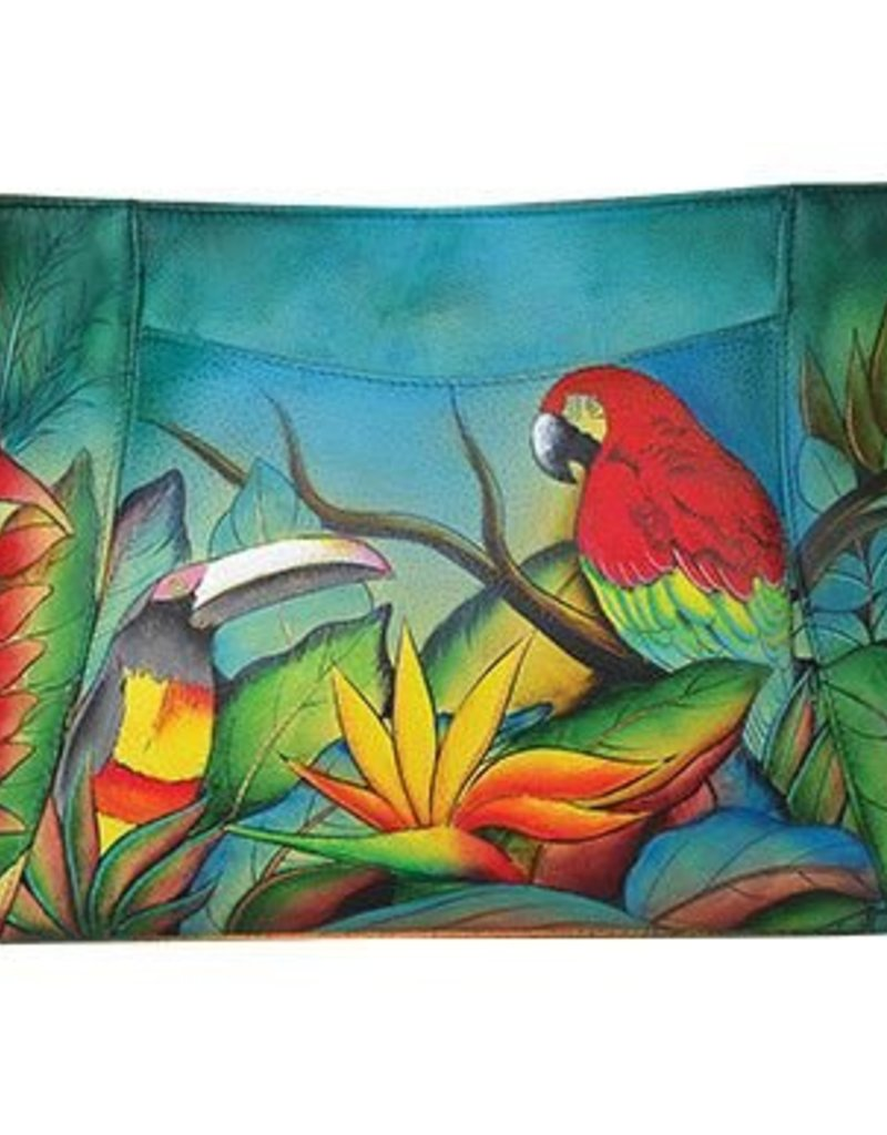ANUSCHKA 460-TBL LEATHER BAG TROPICAL BLISS