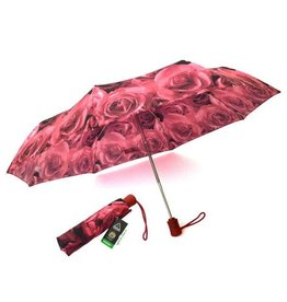 FULTON PHOTO ROSE RED UMBRELLA