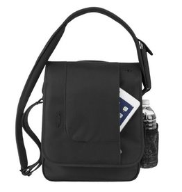 TRAVELON Urban North/South Messenger Bag BLACK