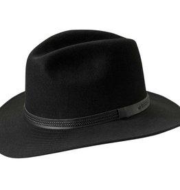 TILLEY BLACK 7 1/8  HAT