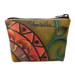 ANUSCHKA PATCH WORK GARDEN COIN CASE