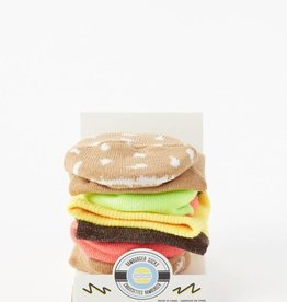 FOOD SOCKS HAMBURGER SOCK LADIES