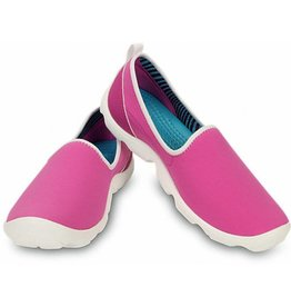 CROCS BUSYDAY SKIMMER W6 PINK WHITE