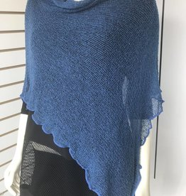 SHARANEL CAPLET SHORT BLUE JEAN