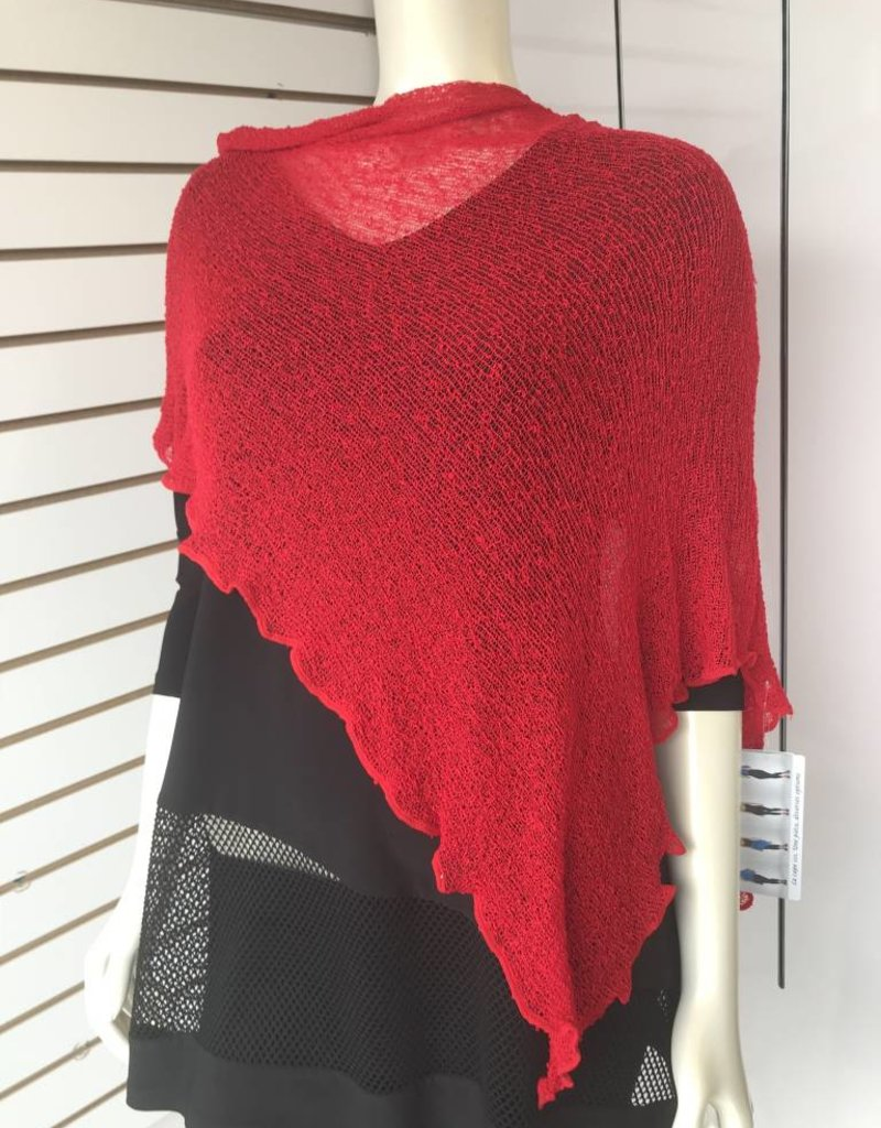 SHARANEL 101 CAPLET SHORT RED