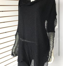SHARANEL CAPLET LONG BLACK