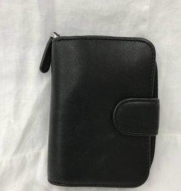 OSGOODE MARLEY RFID KEY HOLDER W/ZIP BLACK
