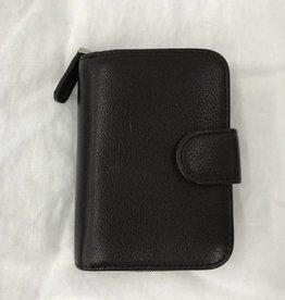 OSGOODE MARLEY RFID KEY HOLDER W/ZIP POCKET BLACK