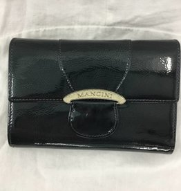 MANCINI LEATHER BLUE LADIES LEATHER WALLET