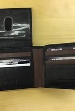SGI LEATHERGOODS 607 RFID LEATHER WALLET