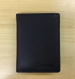 SGI LEATHERGOODS 635 BLACK RFID WALLET