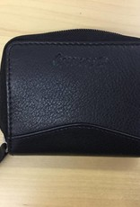 SGI LEATHERGOODS 1011 BLACK RFID CARD CASE