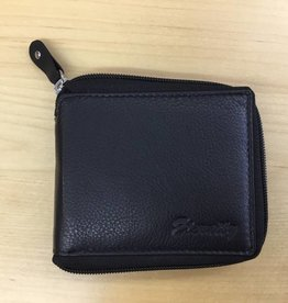 SGI LEATHERGOODS 609 MULTI  RFID ZIP MENS WALLET