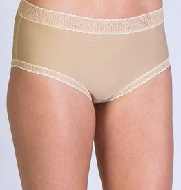 EXOFFICIO XS NUDE LACY FULL CUT BRIEF