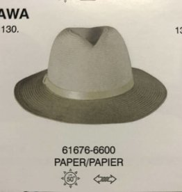 CANADIAN HAT 61676 LADIES SUMMER HAT SILVER