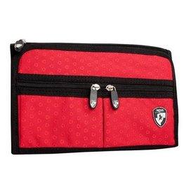 HEYS ECOTEX JEWELRY BAG RED