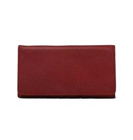 OSGOODE MARLEY 1236 RED RFID CHECKBOOK WALLET