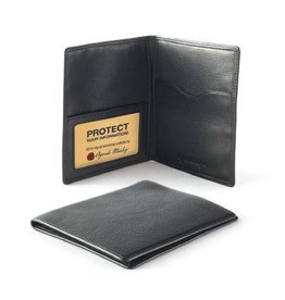 OSGOODE MARLEY 1244 BLACK RFID PASSPORT COVER
