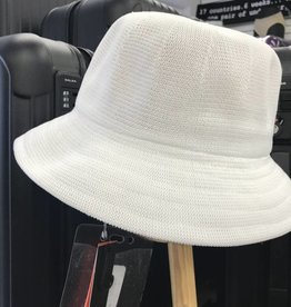 PARKURST 17148 WHITE BERMUDA BUCKET  HAT