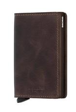 SECRID SLIMWALLET RFID VINTAGE CHOCOLATE
