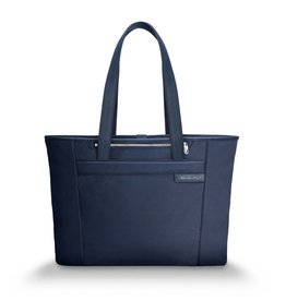 BRIGGS & RILEY 255-5 NAVY LARGE SHOPPING TOTE