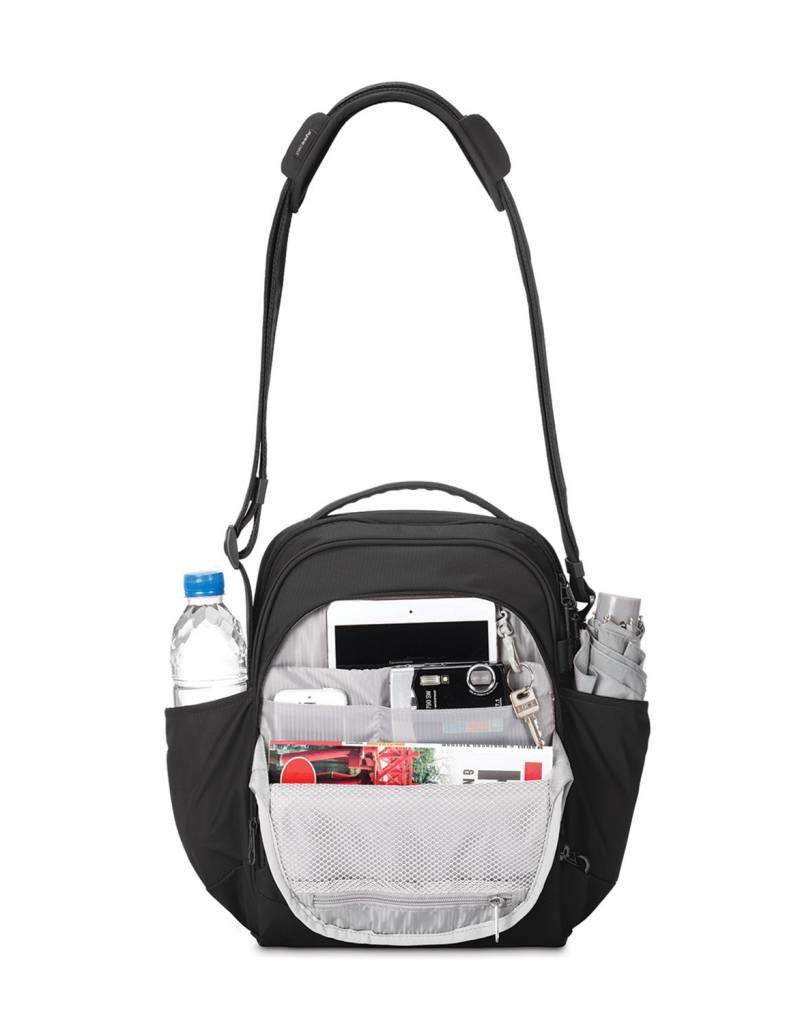 PACSAFE METROSAFE LS250 BLACK SHOULDER BAG 30425100